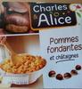 Compote pommes fondantes et châtaignes - Produit