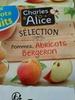 Pomme - abricots bergeron - Produit