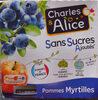 Pommes Myrtille SSA - Product