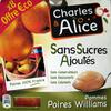 Pommes poire williams - Produit