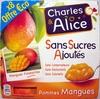 Pommes Mangue sans sucres ajoutés - Produit