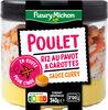 Poulet riz au pavot & carottes sauce curry - Product