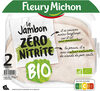 Jambon Supérieur sans couenne Bio - 2 tranches - Product