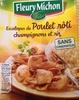 Escalopes de poulet rôti - Produit