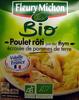 Poulet rôti jus au thym écrasée de pommes de terre Bio - Product