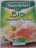 saumon sauce au basilic et riz blanc - Produit