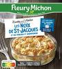 Les noix de ST-Jacques et ses poireaux et champignons - Produit