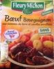 Bœuf Bourguignon aux pommes de terre et carottes persillées - Produit