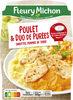 Poulet & duo de purées, carottes, pommes de terre - Produit