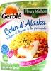 Colin d'Alaska, boulgour et légumes à la provençale - Produit