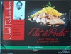 """Filet de poulet aux morilles et ses pâtes """"grattata"""" - Product"""