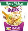 BOX KEBAB de POULET (fusilli kebab de poulet & sauce blanche) - Product