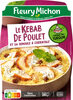 Le Kebab de Poulet et sa Semoule à l'Orientale - Produit