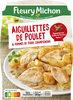 Aiguillettes de poulet & pommes de terre, champignons assaisonné aux herbes de Provence - Produit