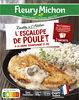 L'Escalope de Poulet à la Crème, Champignons et Riz - Producto