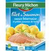 Filet de Saumon sauce béarnaise et petites pommes de terre - Product