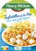 Tagliatelles de la mer, sauce crème, petits légumes - Product