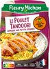 Le Poulet tandoori semoule aux petits légumes - Produit