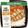 Porc émincé riz et légumes cuisinés - Produit