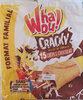 Whaou ! Cracky Crêpes chocolat et Billes de céréales x 15 - Product