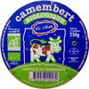Camembert Biologique (22 % MG) - Product