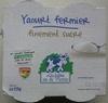 Yaourt fermier finement sucré - Product