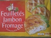 4 Feuilletés Jambon Fromage, Surgelés - Product
