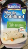Filet de Cabillaud sauce au Court-Bouillon - Product