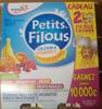 Petits Filous (6 Goûts : Fraise, Framboise, Pêche, Banane, Abricot, Fruits Rouges) 18 Pots - Product