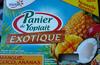 Panier de Yoplait Exotique (Ananas, Coco, Mangue) 8 Pots - Produit