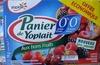 Panier de Yoplait (0 % MG, 0 % Sucres ajoutés) - (Cerise, Fraise, Framboise, Mûre) 8 Pots - Produit