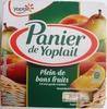 Panier de Yoplait (2 Pêche, 2 Poire) 4 Pots - Produit