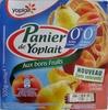 Panier de Yoplait 0 % MG, 0 % Sucres ajoutés Pêche, Poire - Produit