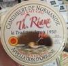 Camembert de Normandie au lait cru (22% MG) - Produit