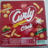 Curly Club Cacahuète, Fromage, Tomate - Produit