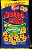 Biscuits apéritif goût emmental Monster Munch - Produit