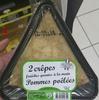 2 crêpes de froment pommes poêlées - Produit