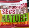 Mini saucissons secs nature - Product