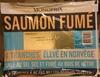 Saumon fumé élevé en Norvège - Product