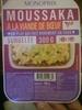 Moussaka à la viande de boeuf surgelée - Product