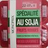 Spécialité au Soja Fruits Rouges - Produit