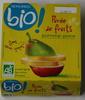 Purée de fruits pomme-poire - Product