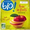 Purèe de fruits Pomme - Produit