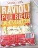 Ravioli pur boeuf aux oeufs frais - Product