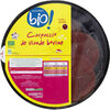 Carpaccio de viande bovine - Produit