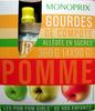 Gourdes de compote de pomme Monoprix - Producto