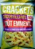 Crackets croustillants goût emmental - Produit