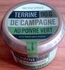 Terrine de campagne au poivre vert - Product