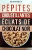 Pépites croustillantes éclats de chocolat noir - Product