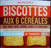 Biscottes aux 6 céréales - Prodotto